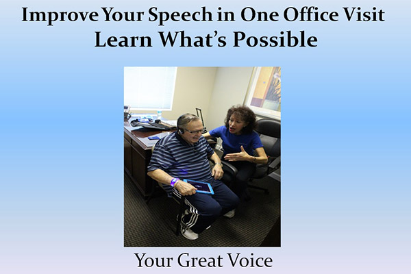 Improve Speech, Voice Aerobics