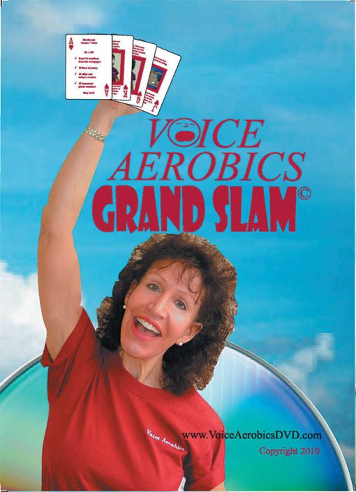 Voice-Aerobics-Grand Slam fitness cards