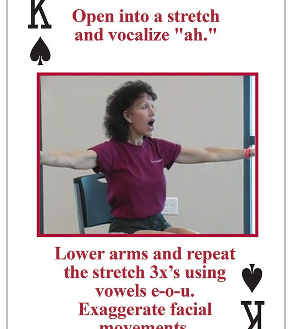 NEW! Voice Aerobics Grand Slam Fun Speech Practice in the Palm of Your Hand