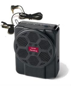 Voice Aerobics amp & mic