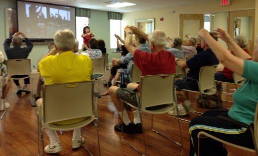 voice aerobics seminar class