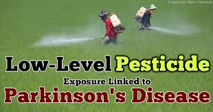 Low-Level Pesticide Exposure Linked to Parkingson's Disease