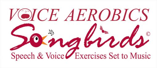 Logo: Voice Aerboics Songbirds, Speech and voice exercises set to music