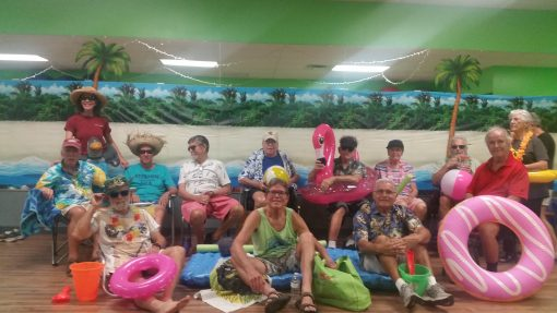 Speech at the Beach, Voice & Body Strengthening for those affected by Parkinson's Disease with medical speech-language pathologist Mary Spremulli, MA,CCC-SLP of Punta Gorda, Florida