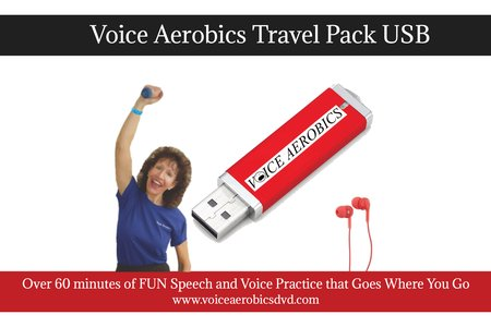 NEW! Voice Aerobics Travel Pack voice practice goes where you go!